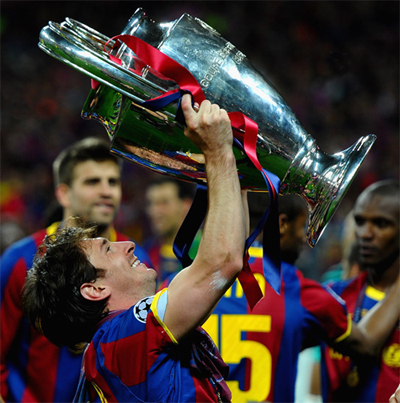 Messi Champions League 2011