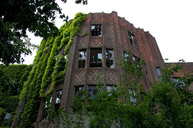 North Brother Island near New York City, New York