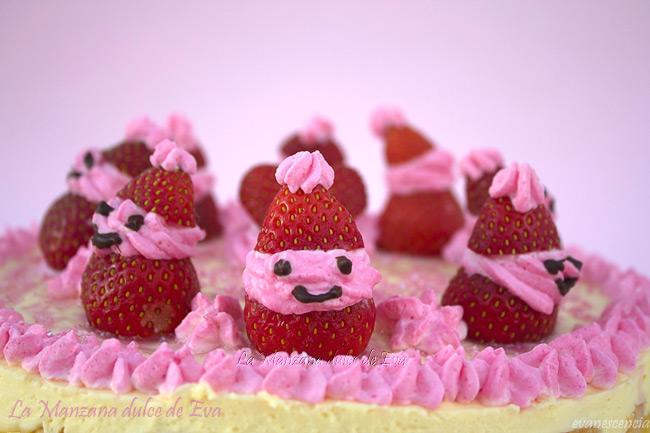 papanoel de fresas