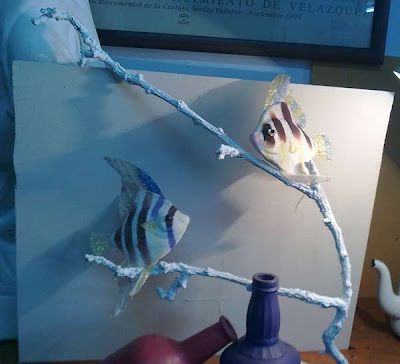 modelo en el estudio de dos peces