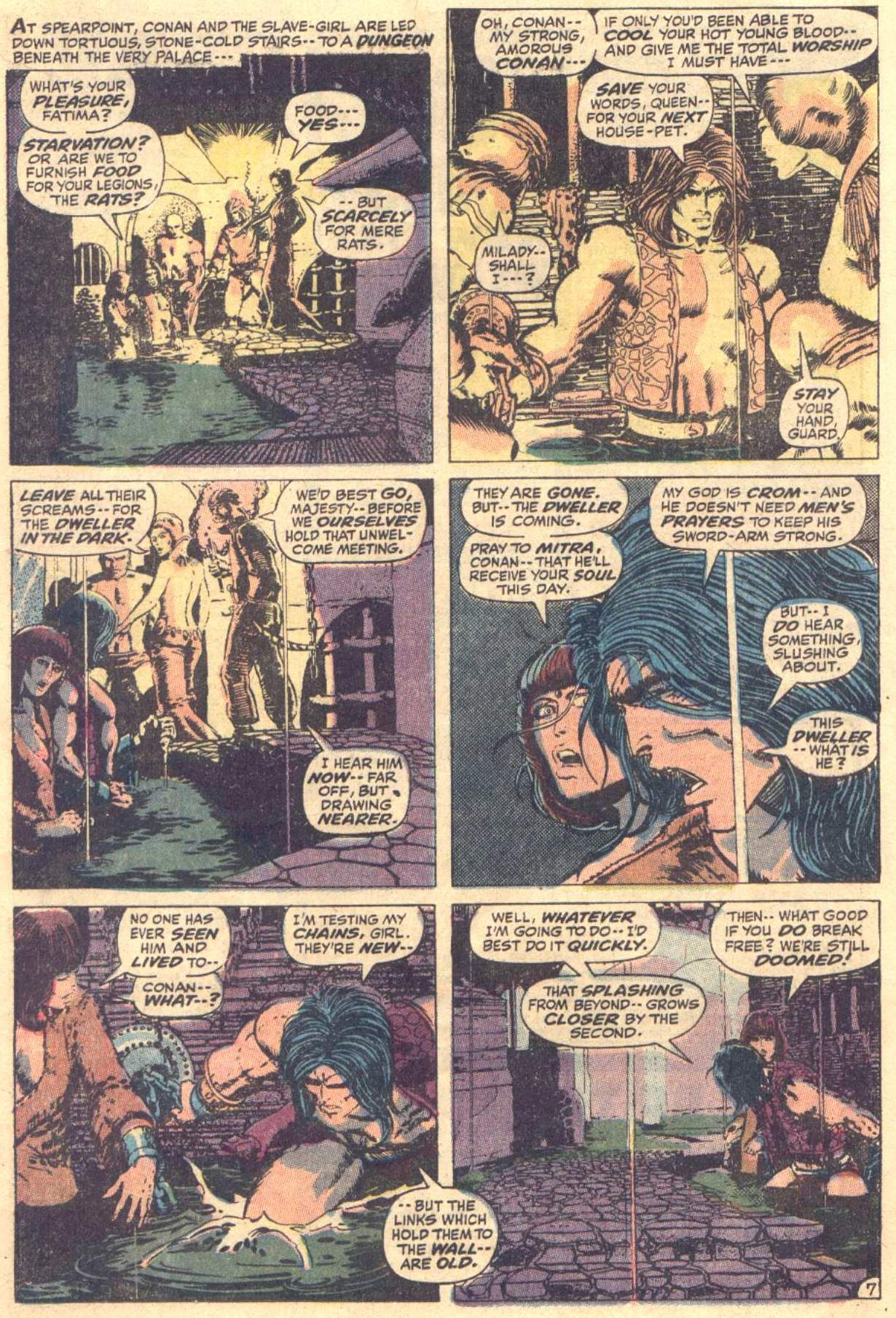 Conan the Barbarian (1970) Issue #12 #24 - English 8