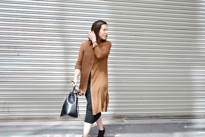Vero Moda tunic top outfit idea Vancouver blogger