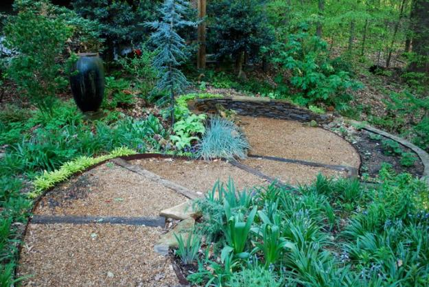 Natural Forest Landscape Garden Design  House Designs