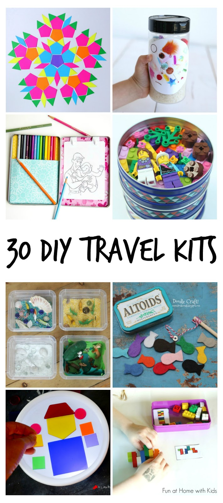 30 Diy Portable Travel Kits For Entertaining Kids On The Go Fun Electronics Learning Circuits Stem Homeschooling Pinterest