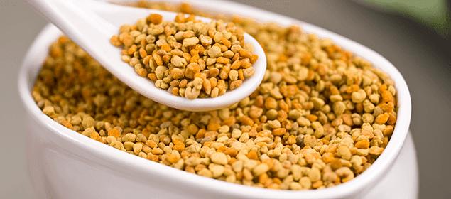 polen para limpiar organismo