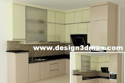 Desain kitchenset type TH 029G TH 030 G lemari oven TH 125 GL