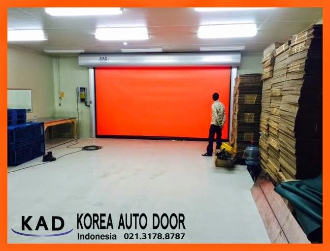 kad pintu high speed door install doors in indonesia