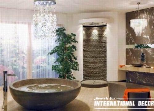 modern bathroom interior design fashionable style