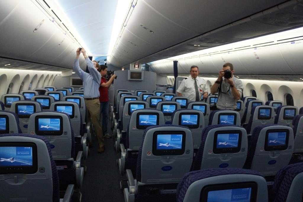 Impresionante el nuevo boeing 787 dreamliner de aerom xico for Interior 787 aeromexico