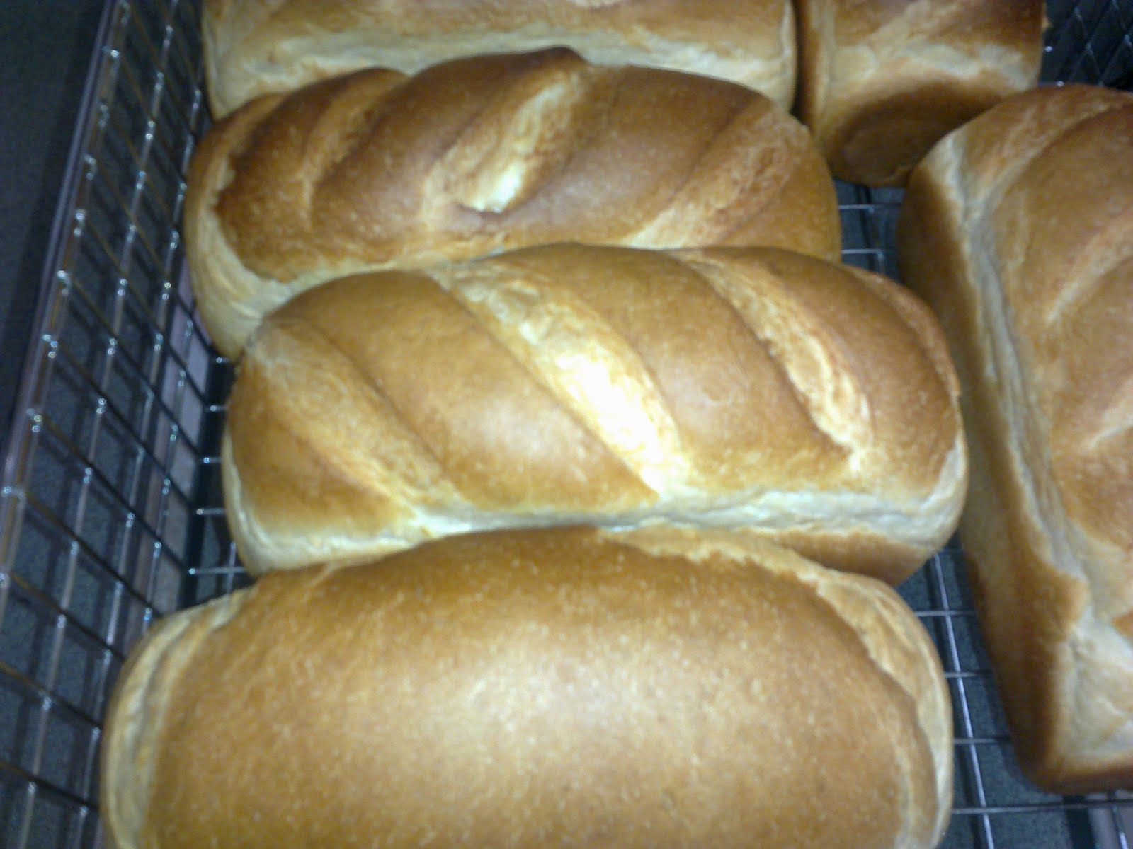 Besides the basic white bread, we made vienna loaves, buns, etc. Here ...