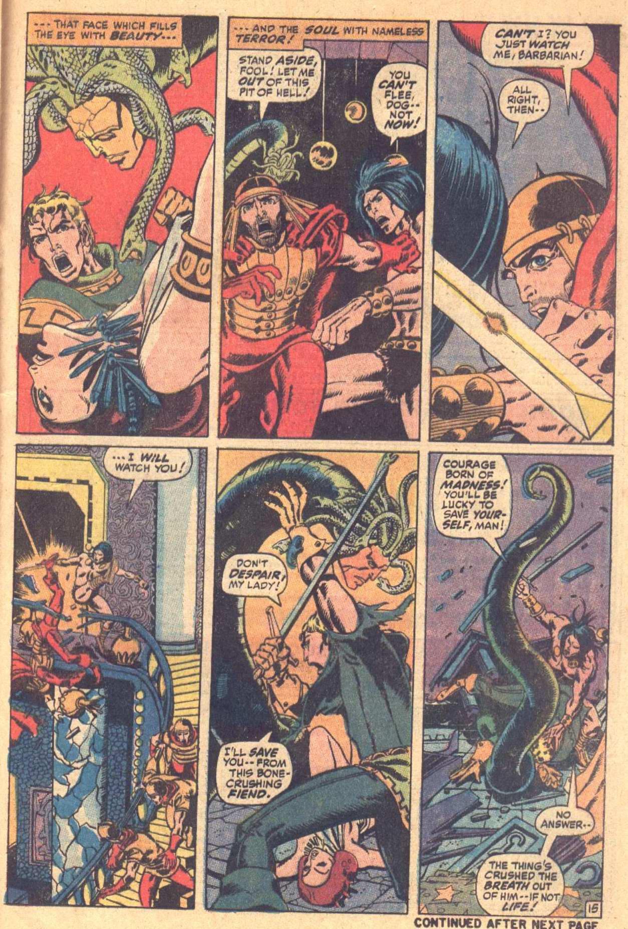 Conan the Barbarian (1970) Issue #7 #19 - English 16