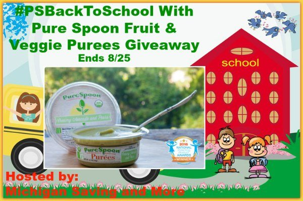 Pure Spoon Fruit and Veggie Purees Giveaway