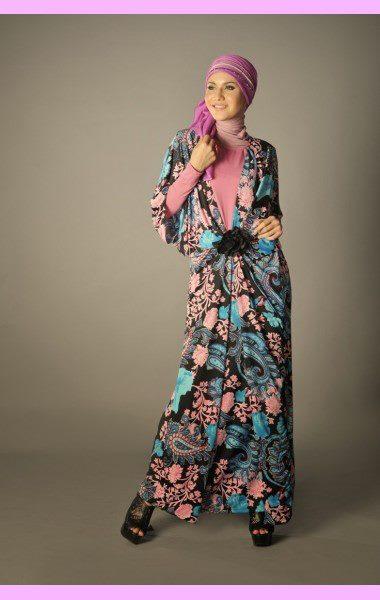 robe pratique pour femme voilée
