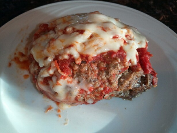 Mozzarella Stuffed Meatloaves - high calcium, high protein recipes