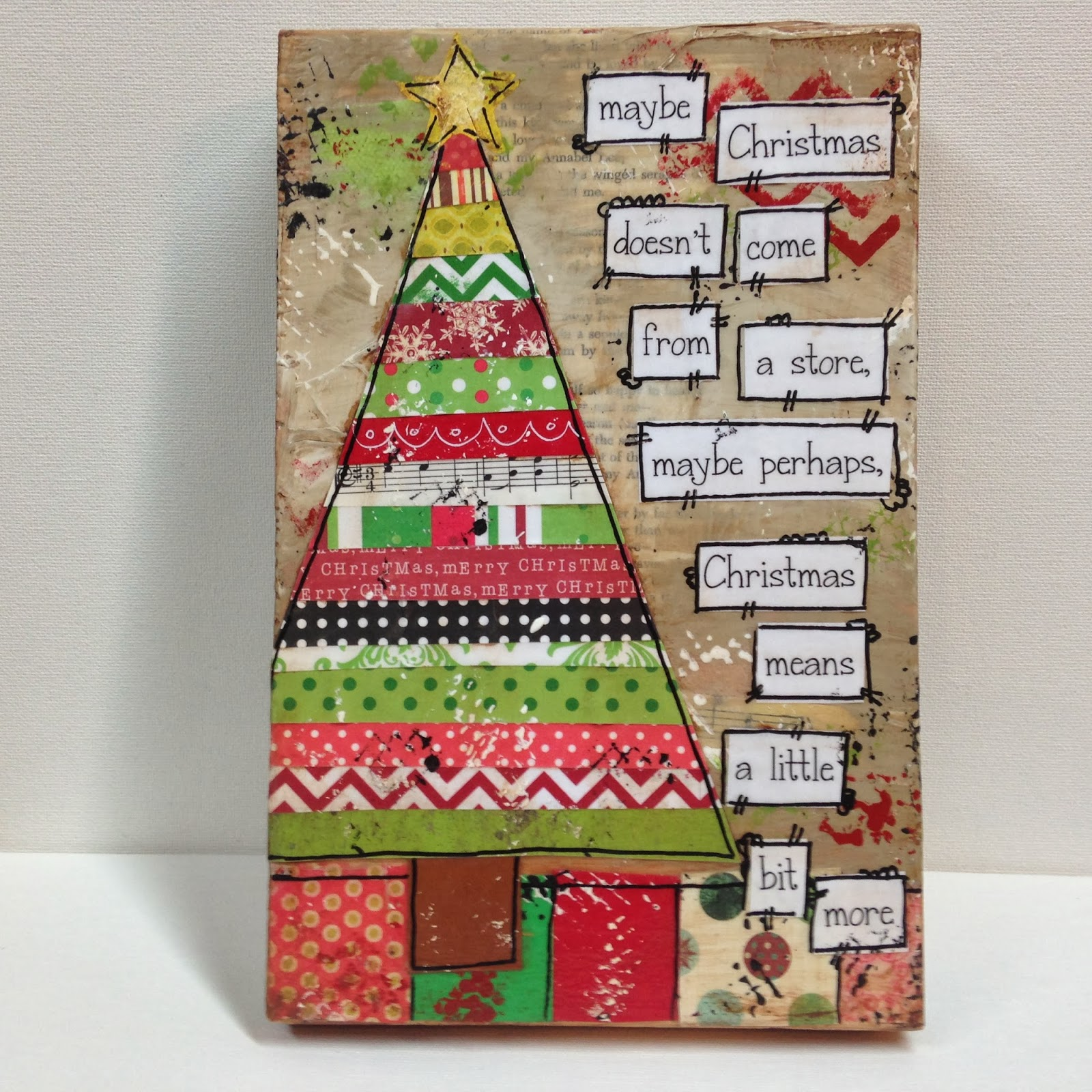 Heartfelt november 2013 for Harrisburg christmas craft show