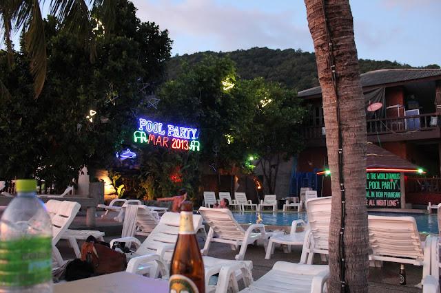 Pool party Ko Phangan