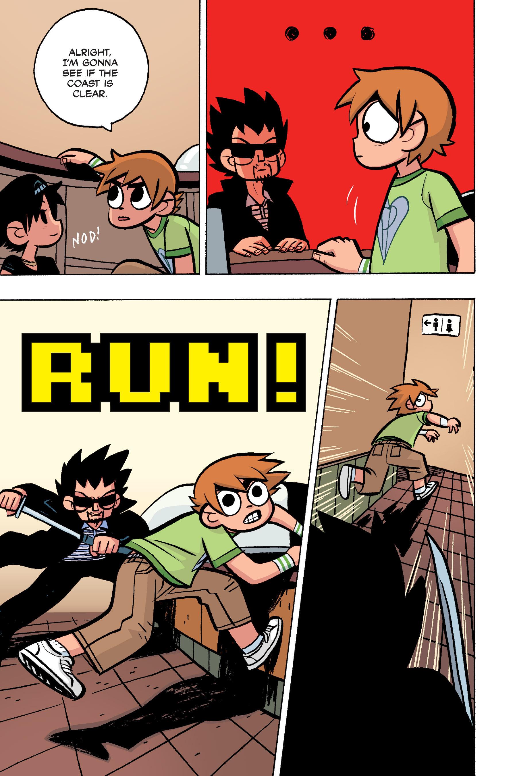 Read online Scott Pilgrim comic -  Issue #4 - 155