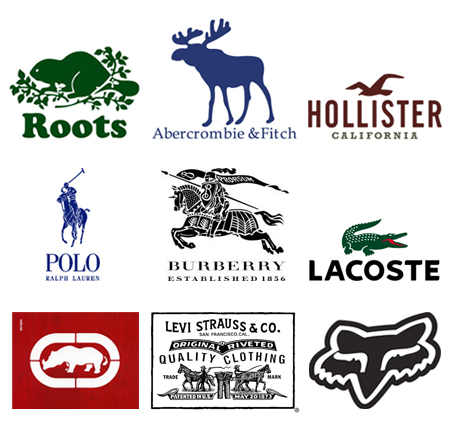 Designer Clothing Label Names Fashion Brand Logos And Names