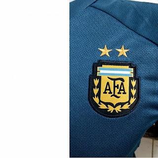 jual online jersey argentina away copa amerika Detail lambang federasi sepak bola Argentina AFA