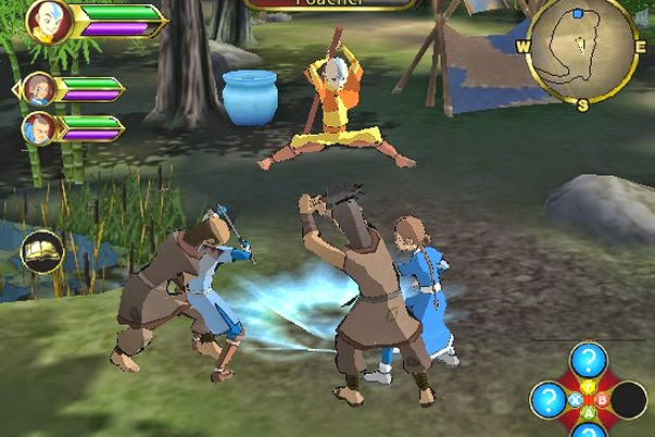 Download Game Avatar The Last Airbender Single Link