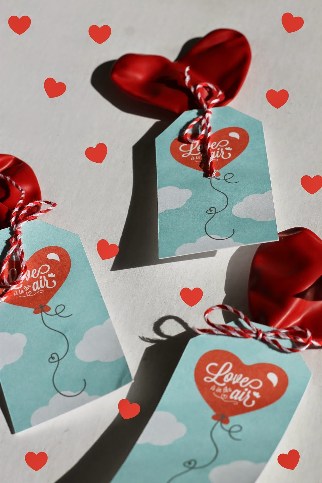 Balloon Valentine Printable