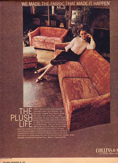 vintage advertising, vintage furniture, modern furniture, vintage modern