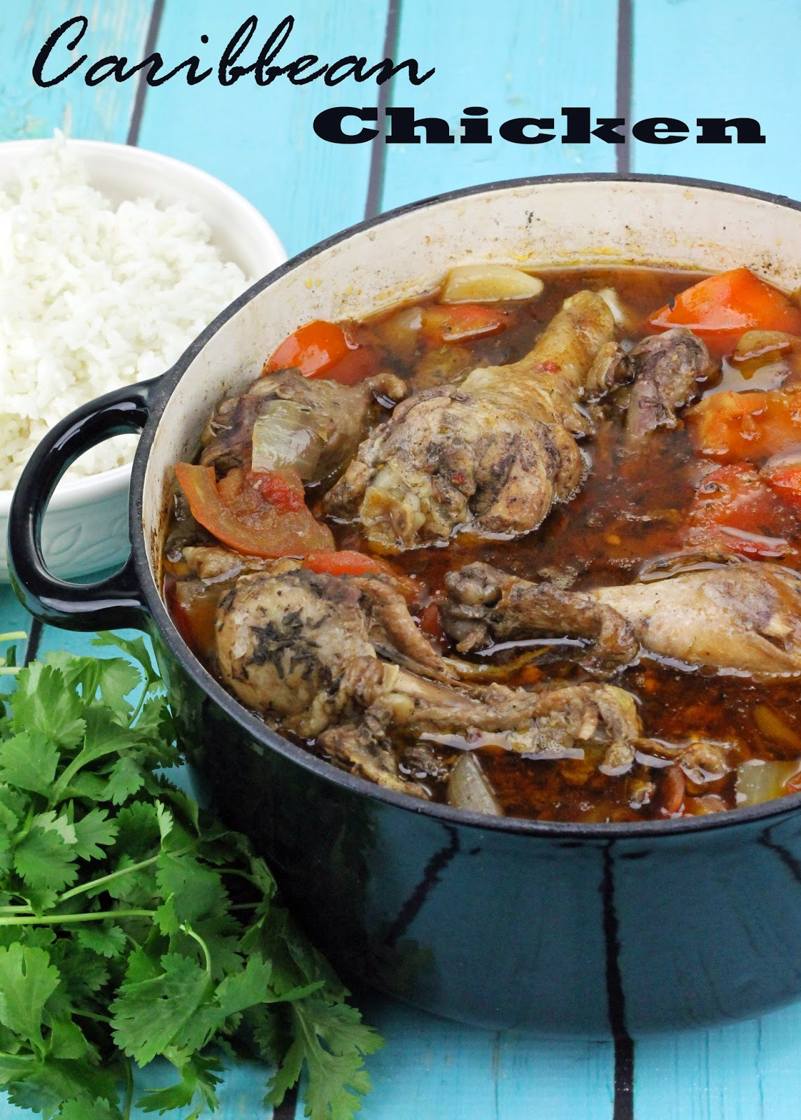The Stay At Home Chef: Braised Caribbean Chicken