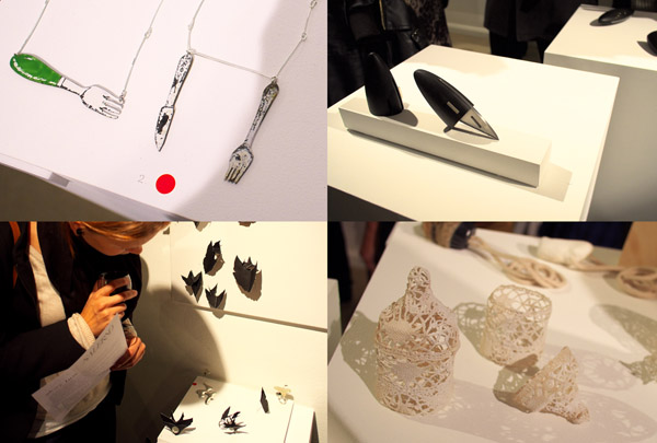 Art Objects, and Jewellery, tenmoregirls - glory box exhibition - Sydney 2012