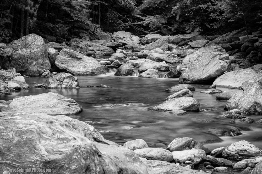 bolton vermont mountain stream
