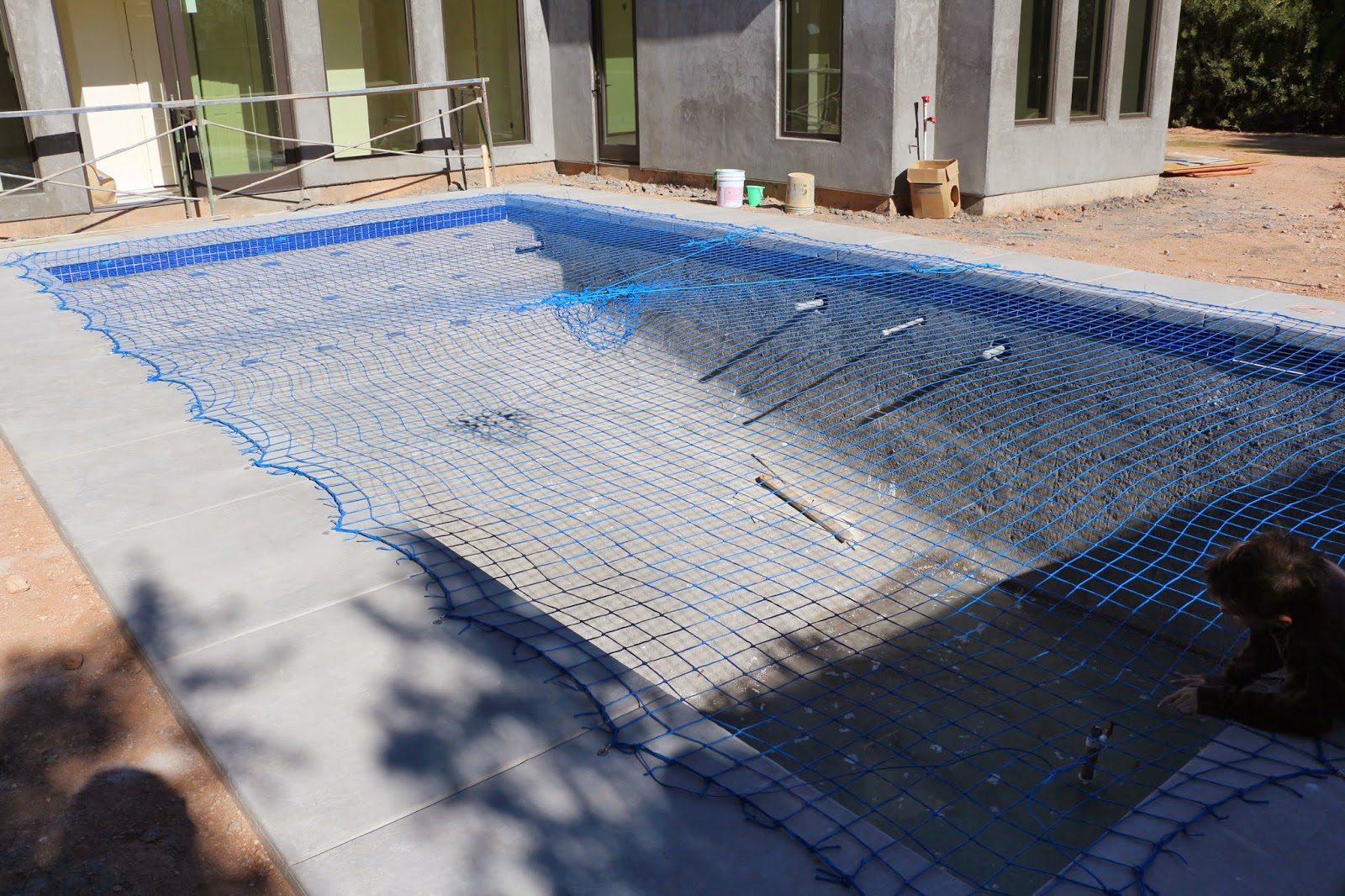 blue katchakid pool net