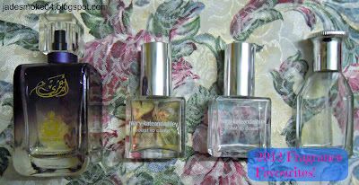 2012 Fragrance Favourites; perfumes/colognes