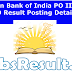 Union Bank of India IBPS PO III IV SO Result Posting Details