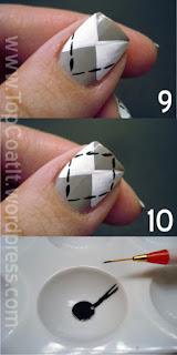 Argyle Nail DesignTutorial How To
