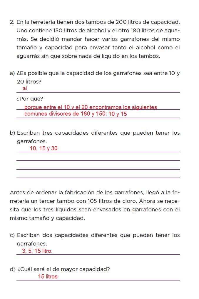 Respuestas Sin cortes - Desafíos matemáticos 6to Bloque 5to 2014-2015