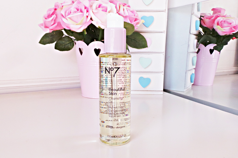 skincare, skincare review, cleansing oil, no 7 cleansing oil, no 7 makeup review, no7 skincare review, beauty blog, beauty blogger, uk beauty blog, bbloggers,laurasallmadeup