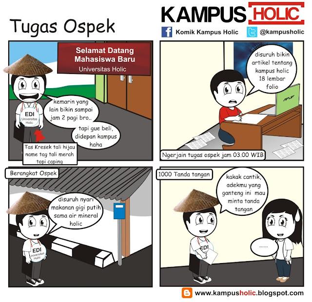 #225 Tugas Ospek mahasiswa komik kampus holic