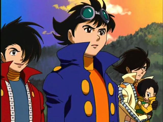 Jiro, Ichiro and Rei (and Akira)