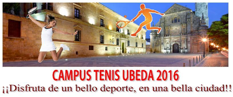 CAMPUS TENIS UBEDA 2016