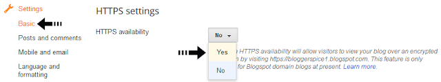HTTPS for security