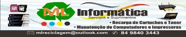 MANUTENÇÃO EM COMPUTADORES,IMPRESSORAS,RECARGA DE CARTUCHOS E TONER