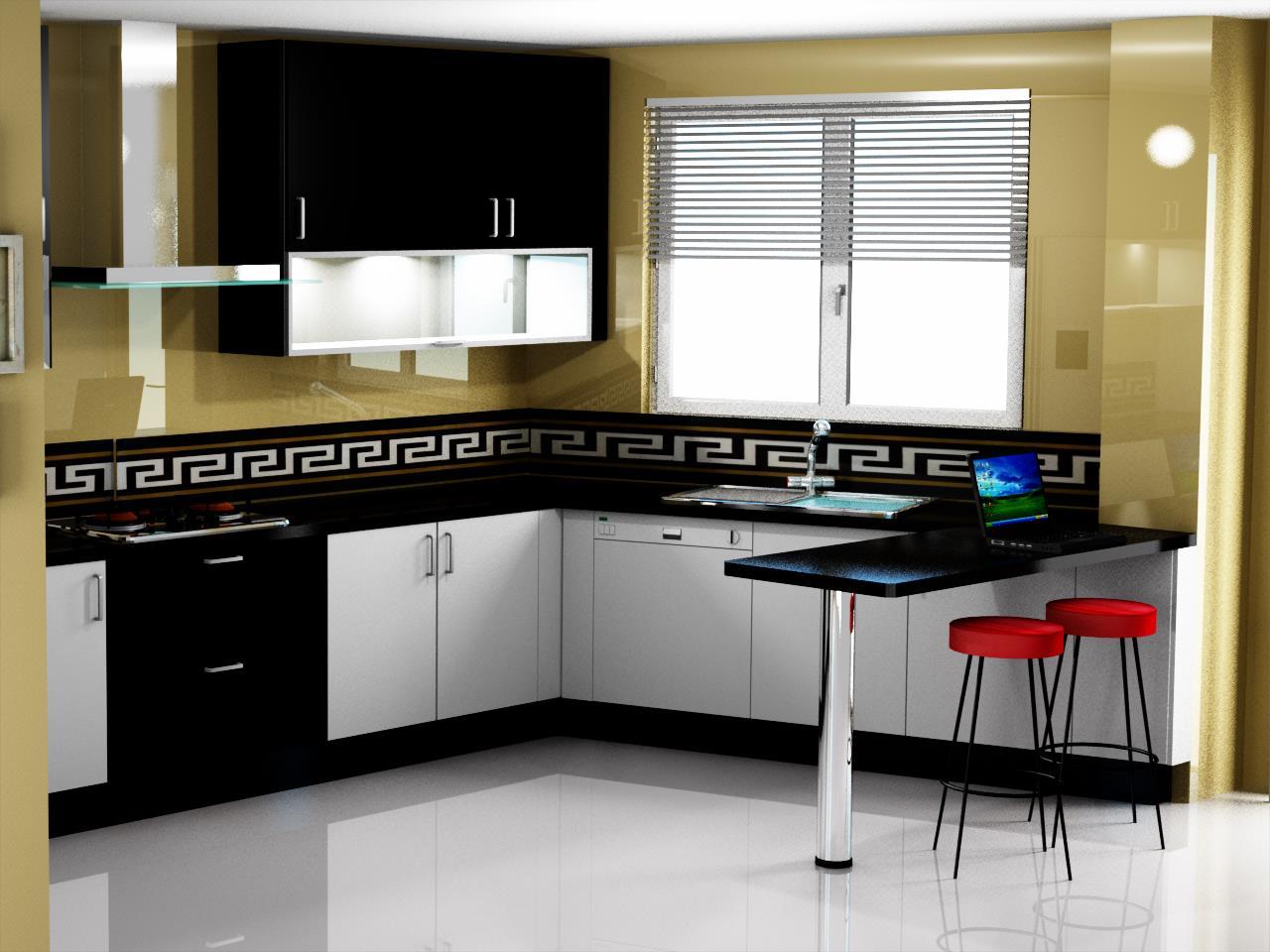 Dise o de cocina con muebles hasta el techo - Fp de cocina ...