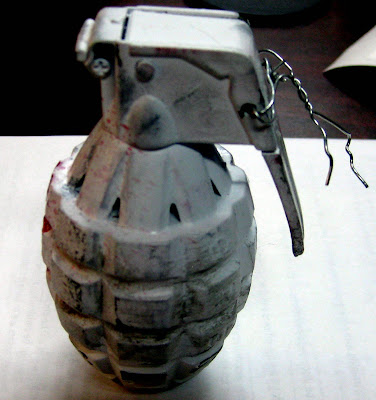      An inert grenade was discovered in checked baggage at Greensboro (GSO). 