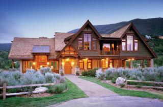 บ้านไม้ 2 ชั้น