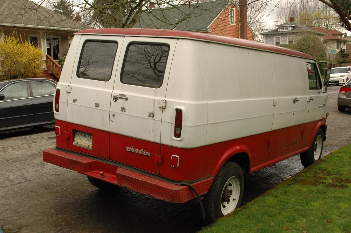 Old Parked Cars 1969 Ford 300 Econoline Super Van