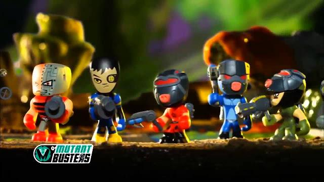Los muñecos de Famosa Mutant Busters que se han convertido en serie