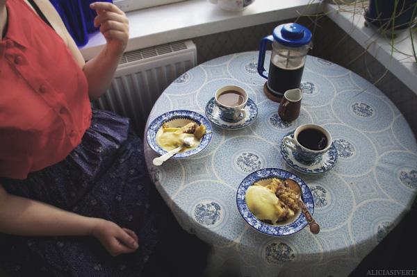 verandakaffe coffee cup cups apple pie fika trekaffe kaffe äppelpaj äpplepaj veranda aliciasivert alicia sivertsson