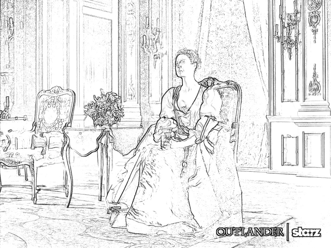 The Art That Inspires Writers And Readers Outlander Coloring Pages