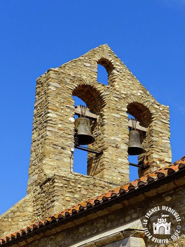BROUILLA (66) - Eglise Sainte-Marie (Extérieur)