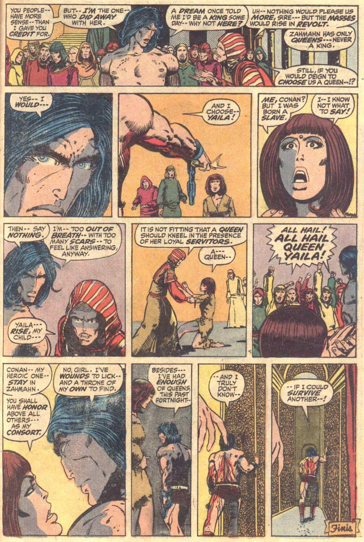 Conan the Barbarian (1970) Issue #12 #24 - English 17