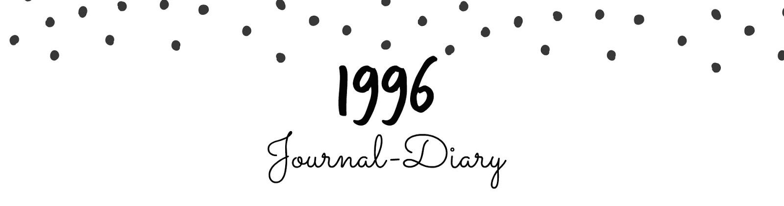 1996 journal-diary